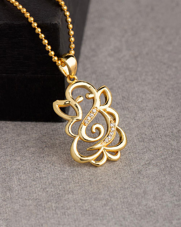Buy designer pendants lord ganesh designer pendant with chain for lord ganesh designer pendant with chain for men mozeypictures Choice Image