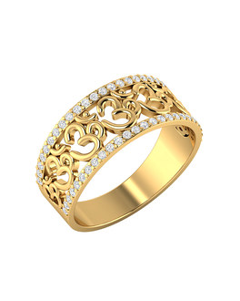 buy mens rings silver gold plated diamond mens ring designs